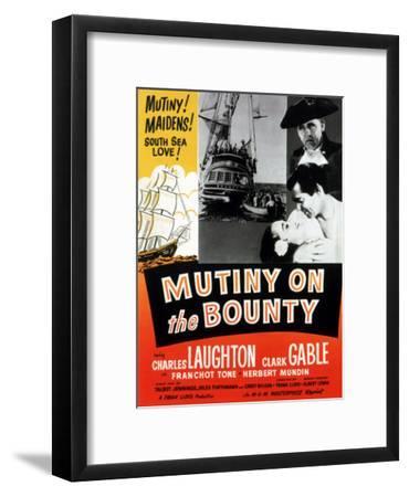 Mutiny on the Bounty, Movita, Clark Gable, Charles Laughton, 1935