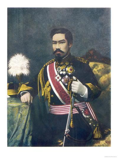 Mutsuhito Also Known as Meiji Emperor of Japan--Giclee Print