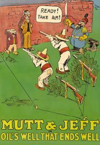 Mutt and Jeff - Oils Well That Ends Well