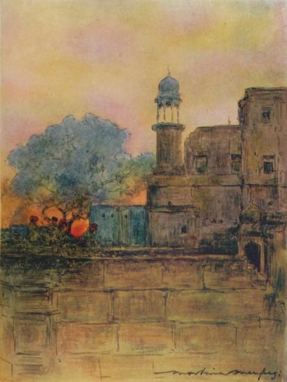 'Muttra', 1905-Mortimer Luddington Menpes-Giclee Print