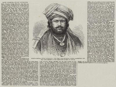 Mutu Coomara Swamy Mudeliar--Giclee Print