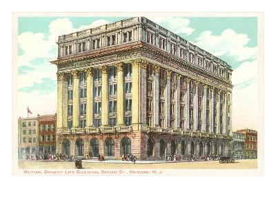 Mutual Benefit Life Building, Newark, New Jersey--Art Print