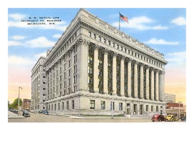 Mutual Life Building, Milwaukee, Wisconsin--Art Print