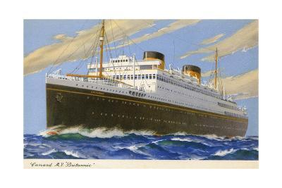 Mv Britannic Cruse Ship--Giclee Print
