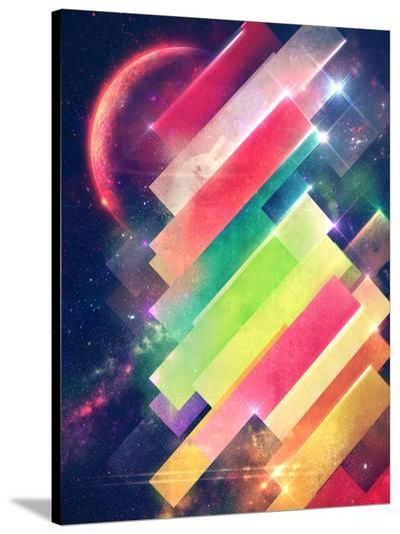 Mwwntyp-Spires-Stretched Canvas Print