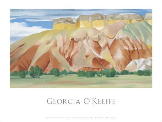 My Back Yard-Georgia O'Keeffe-Art Print