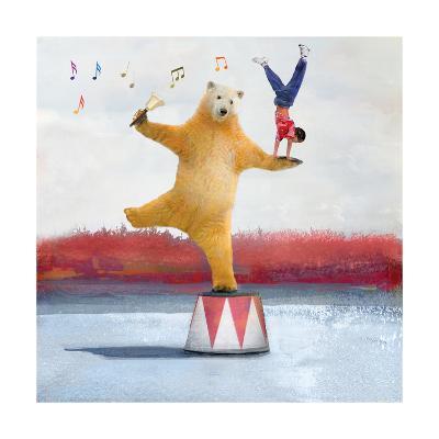 My Big Bear Friend-Nancy Tillman-Premium Photographic Print