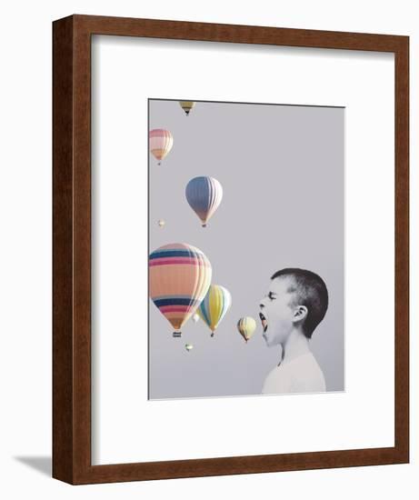 My Big Mouth-Design Fabrikken-Framed Photographic Print