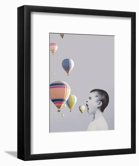 My Big Mouth-Design Fabrikken-Framed Photographic Print