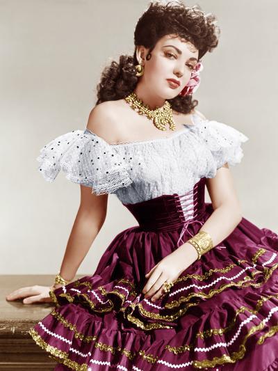 MY DARLING CLEMENTINE, Linda Darnell, 1946.--Photo