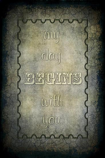My Day Begins with You-LightBoxJournal-Giclee Print
