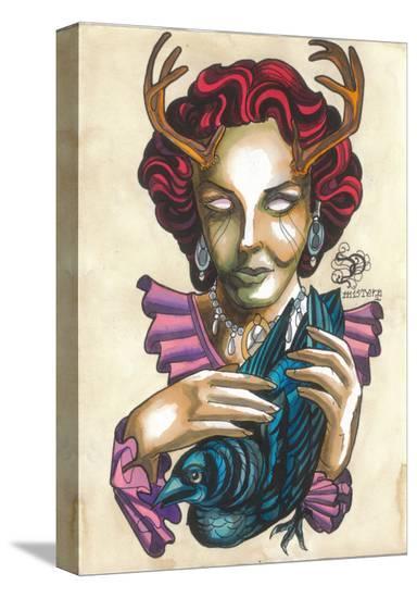 My Dear Friend-Alex Mister P-Stretched Canvas Print