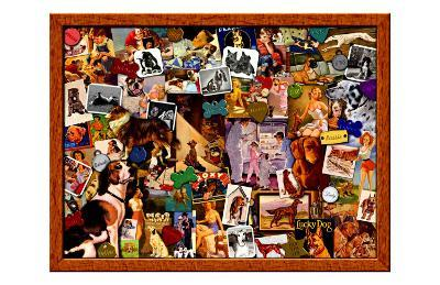 My Dog is My Best Friend-Kate Ward Thacker-Giclee Print