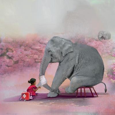 My Elephant Friend-Nancy Tillman-Photographic Print