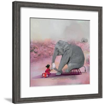 My Elephant Friend-Nancy Tillman-Framed Photographic Print