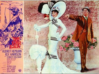 My Fair Lady, Italian Movie Poster, 1964--Art Print