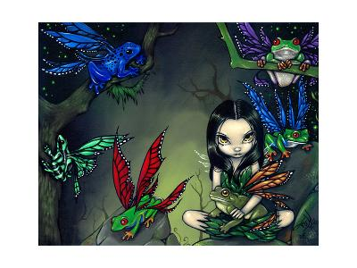 My Fairy Frog Friends-Jasmine Becket-Griffith-Art Print