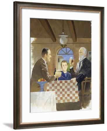My Father's Teacher from 'Heart'--Framed Giclee Print