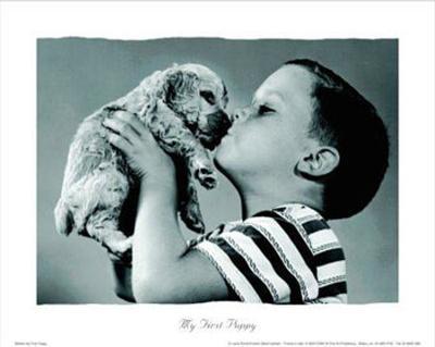 My First Puppy--Art Print
