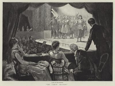 My First Season-Arthur Hopkins-Giclee Print
