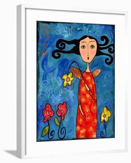 My Flower..-Wyanne-Framed Giclee Print