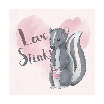 My Furry Valentine II Sq-Elyse DeNeige-Art Print