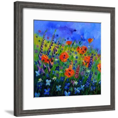 My Garden 88512-Pol Ledent-Framed Art Print