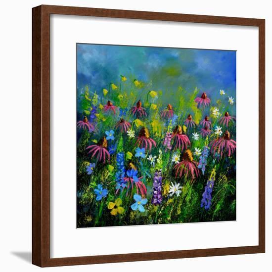 My Garden 8851-Pol Ledent-Framed Art Print