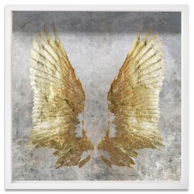 My Golden Wings Framed Art