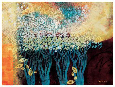 My Grandmother's Orchard-Valerie Willson-Art Print