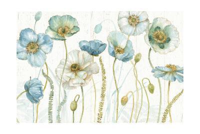 My Greenhouse Flowers I on Wood-Lisa Audit-Art Print