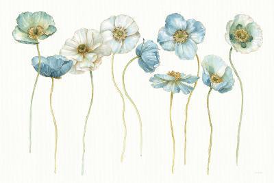 My Greenhouse Poppies Silhouettes-Lisa Audit-Art Print