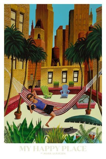 My Happy Place-Mark Ulriksen-Art Print