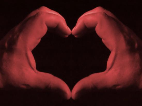 My Heart in My Hands--Photographic Print