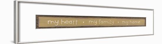 My Heart-Karen Tribett-Framed Art Print