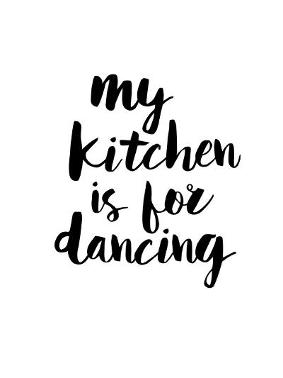 My Kitchen is for Dancing-Brett Wilson-Art Print