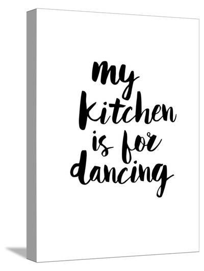My Kitchen is for Dancing-Brett Wilson-Stretched Canvas Print
