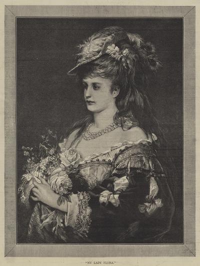 My Lady Flora--Giclee Print