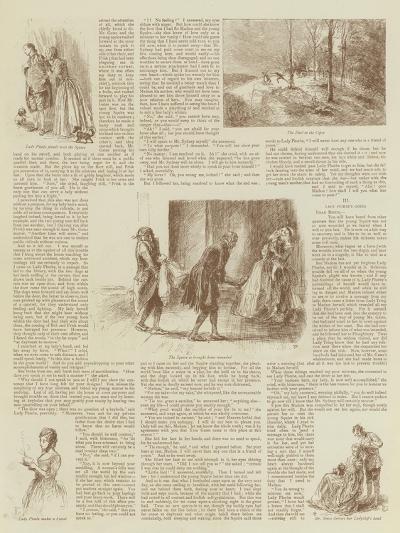 My Lady Phoebe's Wooing--Giclee Print