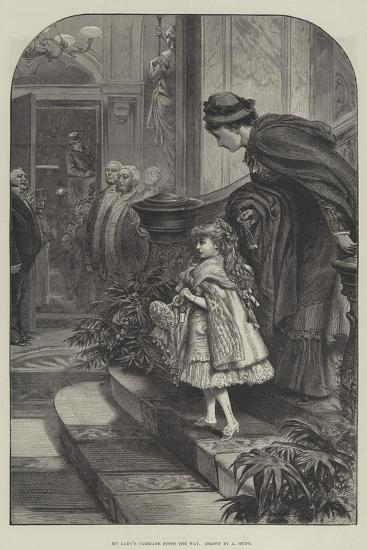 My Lady's Carriage Stops the Way--Giclee Print