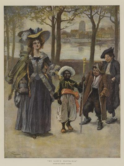 My Lady's Protector-Gordon Frederick Browne-Giclee Print