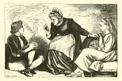 My Lady Wind--Giclee Print