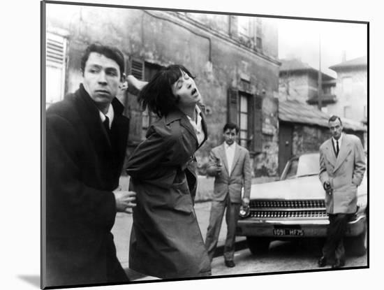 My Life To Live, (aka Vivre Sa Vie), Anna Karina, 1962--Mounted Photo