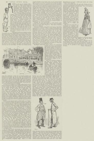 My Little Dutch Tour-David Hardy-Giclee Print