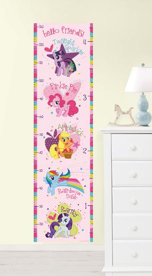 My Little Pony Growth Chart Wall Decal Sticker Wall Decal By Art