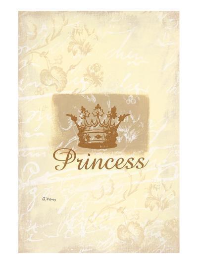 My Little Princess-Anna Flores-Art Print
