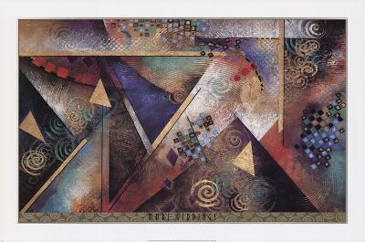 MY LOVE'S ARRIVAL-Mari Giddings-Art Print