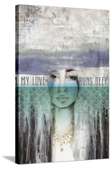 My Love-Anahata Katkin-Stretched Canvas Print