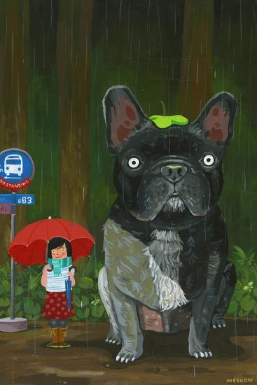 My Neighbor Chubu-Aaron Meshon-Art Print