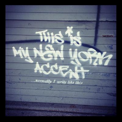 My New York Min-Banksy-Giclee Print